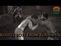 Kushti boys from Kolhapur